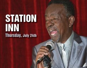 Charles 'Wigg' Walker, live at the Station Inn, Thursday, July 24, 2014