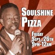 Charles 'Wigg' Walker at Soulshine Pizza 9/26/14