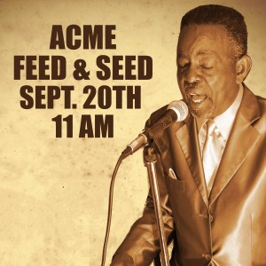 Charles 'Wigg' Walker at ACME Feed & Seed, September 20th, 11:AM